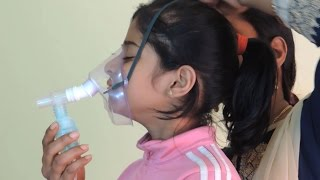 How to nebulize – Demo by Dr Harish
