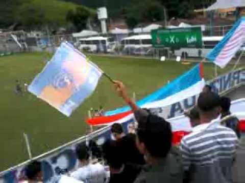 """Infernizada Tricolor - A VOLTA."" Barra: Infernizada Tricolor • Club: Duque de Caxias"