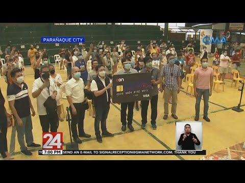 [GMA]  24 Oras: P5,000 ayuda sa mga 'di nabigyan ng tulong mula noong Marso, idinadaan sa ATM card
