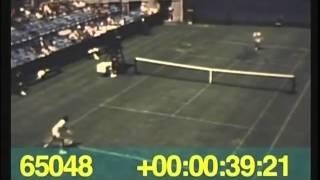 Jan Kodes Defeats John Newcombe, 1971 U.S. Open Tennis Championships