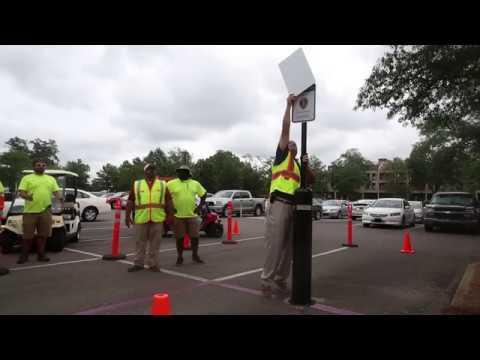 The University of Alabama: Purple Heart Parking Space Ceremony (2017)