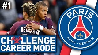 MISSION IMPOSSIBLE? PSG CHALLENGE CAREER MODE #1