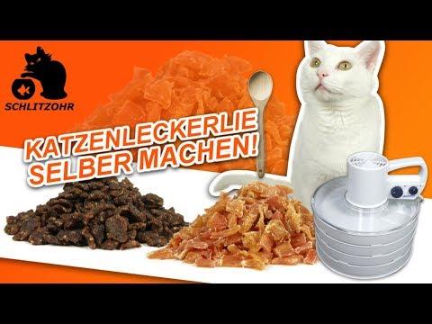🔥Katzenleckerlie selber machen | Dörrfleisch | Dörrautomat | Rommelsbacher DA 750