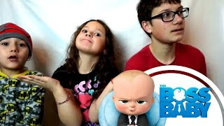 THE BOSS BABY - Official Final Trailer Reaction!!!