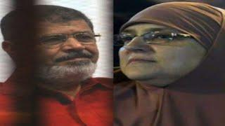 وفاة نجلاء محمود زوجة محمد مرسي!!..تفاصيل وفاة زوجة الرئيس السابق المعزول محمد مرسي