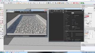 Swimming Pool Caustics  in Vray for Sketchup 3.6