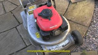 Repairing Lawn Mowers For Profit Part 29 Honda Choke Cable