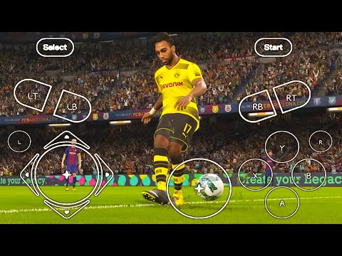 Pes 2018 80mb highly compressed psp android 2019 offline game new best