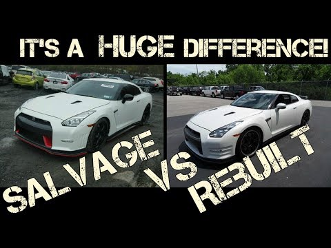 The HUGE Difference Between A Salvage And Rebuilt Car