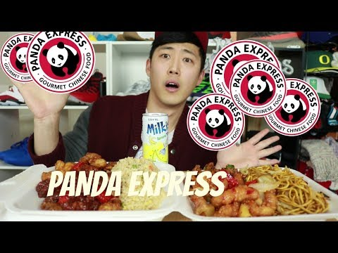 Panda Express Mukbang: Orange Chicken, Beijing Beef, SweetFire Chicken Breast & Kung par Chicken