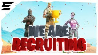 We Are Recruiting... #EvadeAcademy