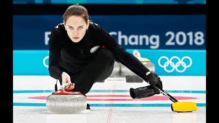 Stunning Russian Curler Who Looks Like Angelina Jolie Crashes Down On Ice At Olympics – Is She Ok?