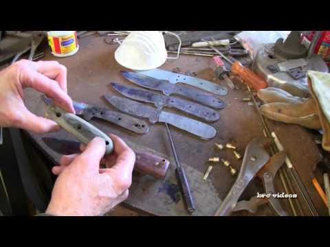 Knife Making DIY Beginners - Fitting Knife Handles - Howto & Style - Bushcraft Knife Making