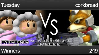 MNM 249 - Tuesday (ICs) vs corkbread (Fox) Winners - Melee