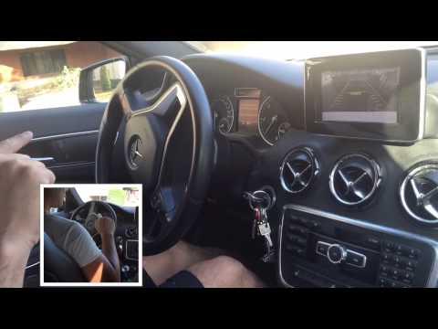 Park Assist Mercedes come funziona parcheggio a S nuova Classe A
