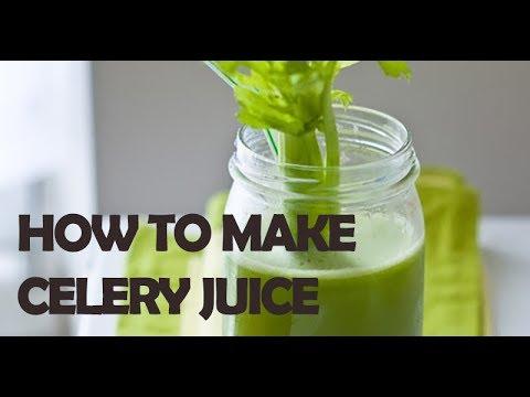 How To Make Homemade Celery Juice