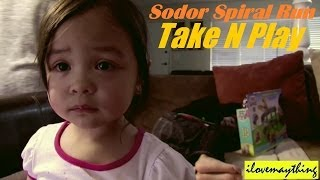 Unboxing Sodor Spiral Run TAKE N PLAY SET - Thomas and Friends