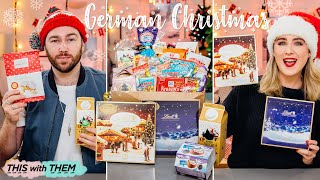 *EPIC* Trying German Christmas Candy & Giveaway - This With Them