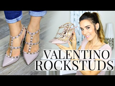 VALENTINO ROCKSTUD UNBOXING/REVIEW | Shea Whitney
