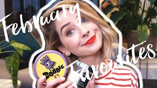 """February Favourites 2018 ⇢ Pre Order Cordially Invited: http://bit.ly/2HRDiFm ⇢ Previous Video: http://bit.ly/2p44QzK ⇢ Vlogs: http://bit.ly/2smIRXB  ⇢ Links below marked with a """"*"""" are affiliate links - which means I receive a percentage of the revenue made from purchasing products through this link ⇠  Items/Brands Mentioned In The Video: ⇢ *Ouai Memory Mist - http://bit.ly/2FwIjWE ⇢ Windle and Moodie Light Satin Hairspray - http://bit.ly/2Dl3Yej ⇢ *KCSI Apricot Whip Moisturiser - http://bit.ly/2DiVZyd ⇢ *Saturday Skin Balancing Act Skin Smoothing Lotion - http://bit.ly/2FwGMjn ⇢ Dr Plus Banana Milk Mask Pack - http://bit.ly/2GkDmgK ⇢ Origins Calm to your Senses Bath Oil - http://bit.ly/2Ij71r0 ⇢ *Ameliorate Skin Softening Bathing Powder - http://bit.ly/2GkiNRu ⇢ Glossier Balm Dot Com - http://bit.ly/2tENrlL ⇢ Gucci Rush 2 Perfume - http://bit.ly/2FdKISy ⇢ Chillys Water Bottle - http://bit.ly/2HnPA7i ⇢ *Jo Malone Green Tomato Leaf Candle - http://bit.ly/2GkG7yC ⇢ Harry Potter & the Cursed Child Play - http://bit.ly/2p8QqNZ ⇢ Now & Then Movie & Soundtrack ⇢ *Dobble the game - http://amzn.to/2Hr50aV  I'm Wearing & In The Background:  ⇢ Top - Joanie Clothing - http://bit.ly/2pxAT8P ⇢ Red Lipstick - Mac """"Fashion Legacy"""" - http://bit.ly/2BB5MiB  My Links:  ⇢ SECOND CHANNEL: http://youtube.com/morezoella ⇢ BLOG : http://www.zoella.co.uk ⇢ TWITTER : http://twitter.com/Zoella ⇢ INSTAGRAM : http://instagram.com/Zoella ⇢ SNAPCHAT: OfficialZoella ⇢ FACEBOOK : http://facebook.com/zoe.zoella  Check out my products: ⇢ http://bit.ly/1G8SoCs ⇢ http://bit.ly/1Ctynli  Check out my books: ⇢ http://amzn.to/1OZo9zp  Thanks so much for watching and for all your continued support. I am forever grateful to each and every one of you for watching, commenting and being a huge part of this channel and this crazy journey :) *all the hug squeezes* xxx"""