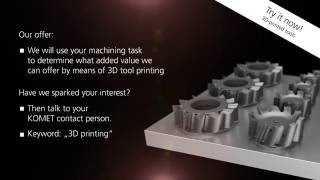 Additive manufactured PCD-tools – THE (R)EVOLUTION