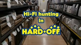 Hi-Fi buying at Hard Off (Japanese hardware recycle store)