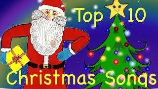 Top 10 Best Christmas Songs for Kids & all the Family | with Xmas Lyrics