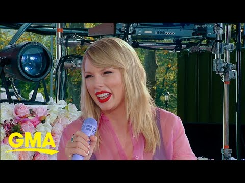 Taylor Swift says she'll re-record her old albums | Live on GMA