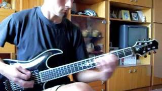 Judas Priest Demonizer (cover) + solo lesson