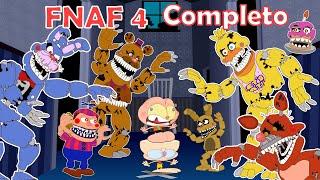 Mongo e Drongo em Five Nights At Freddys 4 Completo - FNAF 4 todas as 5 noites