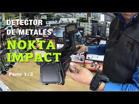 Detector de metales NOKTA IMPACT. Parte 1 de 2