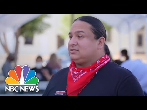 Trump 'Disrespectful' For Coming To Sacred Lands Without Tribal Leaders' Consent | NBC News NOW