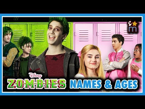 Disney's ZOMBIES Cast Real Name & Age
