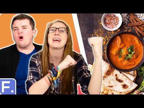 Irish People Taste Indian Food