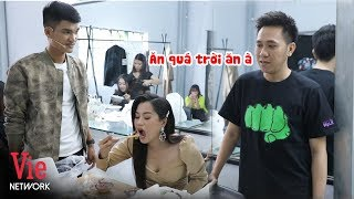 Mạc Văn Khoa mời Lâm Vỹ Dạ ăn bún đậu mắm tôm để vỗ béo | BTS Nhanh Như Chớp