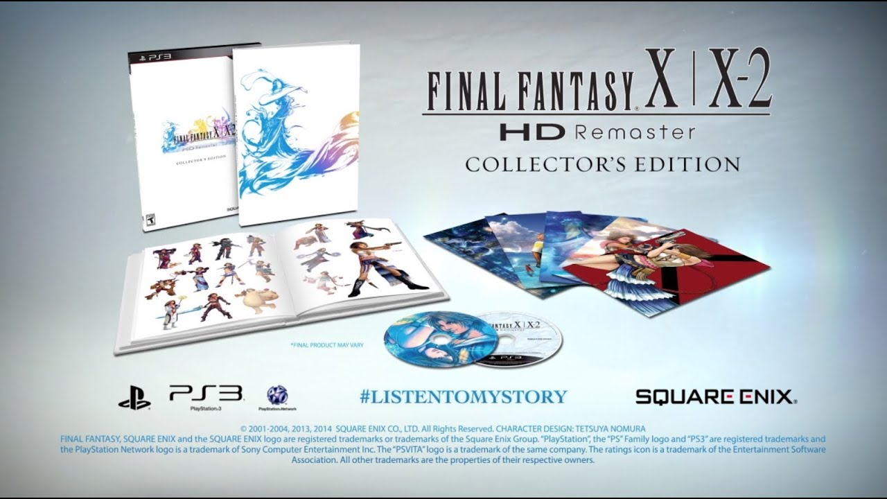 Video FINAL FANTASY® X|X-2 HD REMASTER Collector's Edition [PS3]