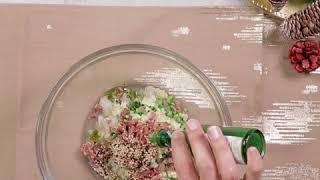 Tartare de pétoncles et bacon