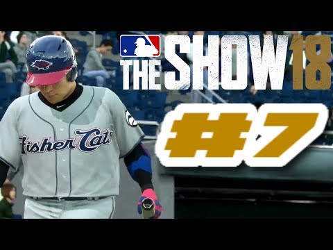 MLB The Show 18 PS4 Road To The Show Ep.4 (Road To MLB The Show 19 PS4 Road To The Show Ep.7)