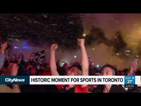 Raptors make history with first trip to NBA finals