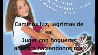 Danna Paola- Caminos de Luz (Amy la niña de la mochila azul) Letra