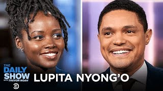 """Lupita Nyong'o - """"Star Wars: The Rise of Skywalker"""" and Writing """"Sulwe""""   The Daily Show"""