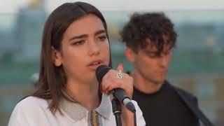 Dua Lipa   New Rules   Rooftop Acoustic Live Session