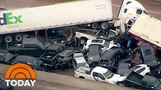 Ice Storm In Texas Leads To Deadly 100-Car Pileup | TODAY