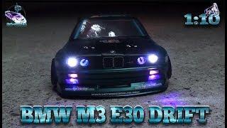BMW M3 E30 Body Tuning [HPI/MST BMW Amazig] Drift 1:10 RC