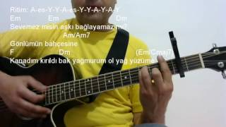 Gitar Dersi - İçimdeki Duman (İlyas Yalçıntaş)