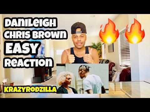 DaniLeigh - Easy (Remix) ft. Chris Brown - REACTION