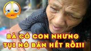[Người sài gòn] Xót xa Bà cụ 60 tuổi bị mù ngồi ở góc đường 😭Lê Đức Thọ Gò Vấp||Lovely Saigon