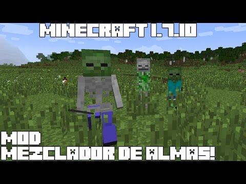 Minecraft 1.7.10 MOD MEZCLADOR DE ALMAS! Genetic Infusion Mod Español!