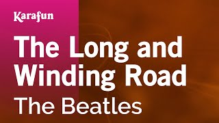Karaoke The Long and Winding Road - The Beatles *
