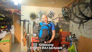 Ergon BA3 mountain bike backpack unboxing